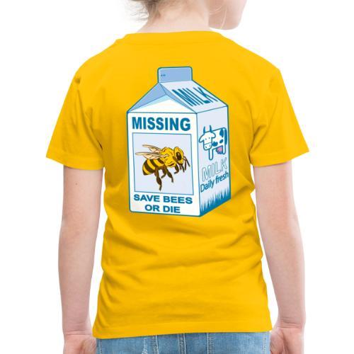 Missing Bees - Toddler Premium T-Shirt