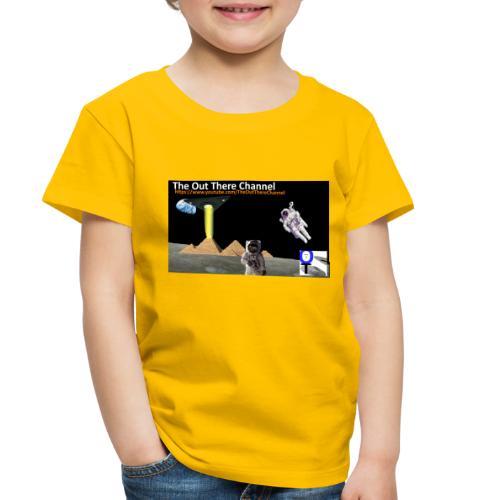 UFO Pyramids v1 with Crew Back Logo - Toddler Premium T-Shirt