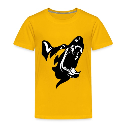 German Shepherd Dog Head - Toddler Premium T-Shirt