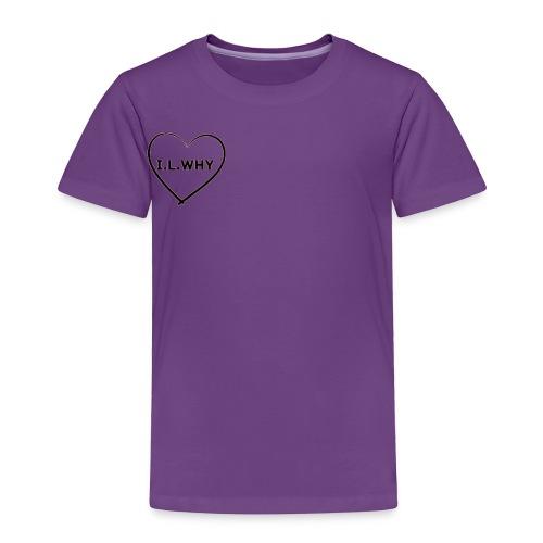 I.L.why ❤️ - Toddler Premium T-Shirt