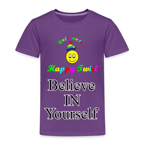 HTS Believe in Yourself Highlighted Logo - Toddler Premium T-Shirt