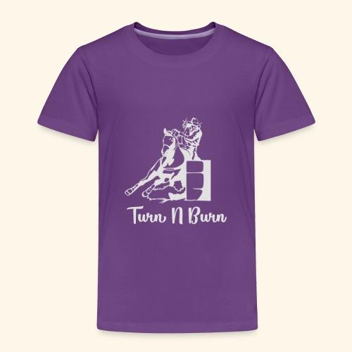 Turn N Burn Barrel Racer - Toddler Premium T-Shirt