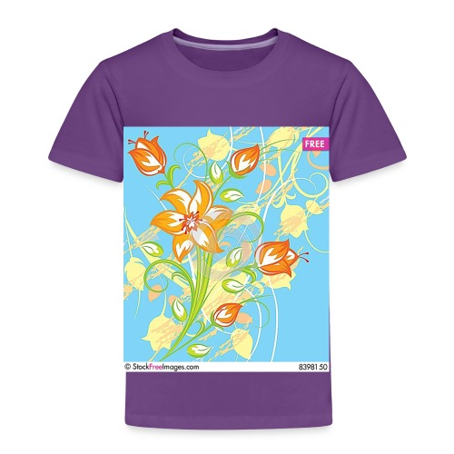 flowers67 - Toddler Premium T-Shirt
