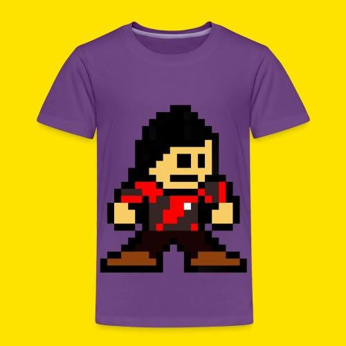 Kuna Mega Man Logo Unisex Tie-Die - Toddler Premium T-Shirt