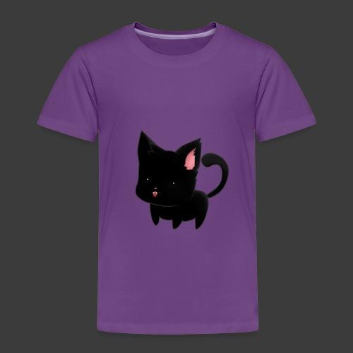 black cat hoodie - Toddler Premium T-Shirt