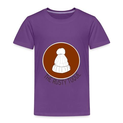 The Rusty Toque Brown Logo 2 - Toddler Premium T-Shirt