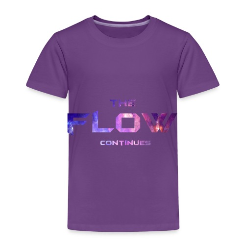 The Flow Continues Merchandise - Toddler Premium T-Shirt