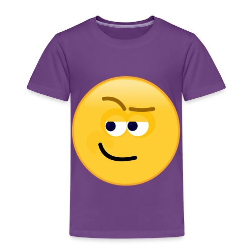 Smirk - Toddler Premium T-Shirt
