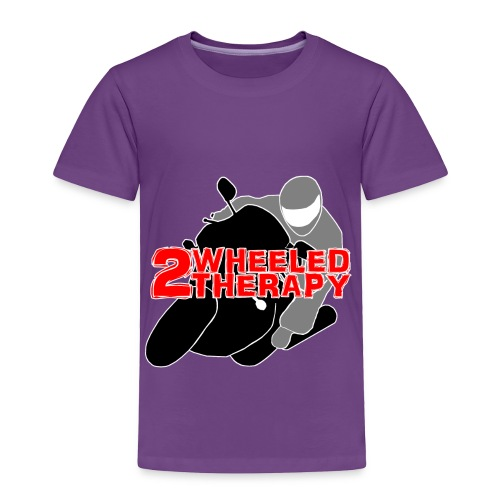 2 Wheeled Thereapy - Toddler Premium T-Shirt