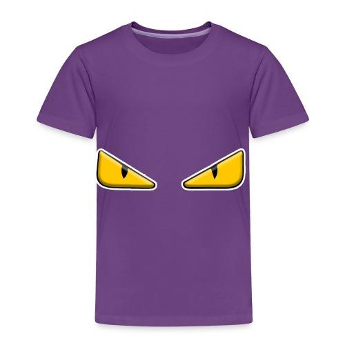 Zaheire x Fendi Monster Eye Design - Toddler Premium T-Shirt