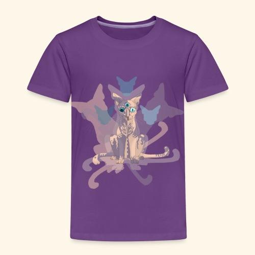 Feline of Obscure Symmetry - Toddler Premium T-Shirt