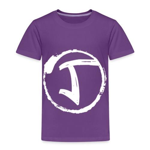 JKrew Simple White logo - Toddler Premium T-Shirt