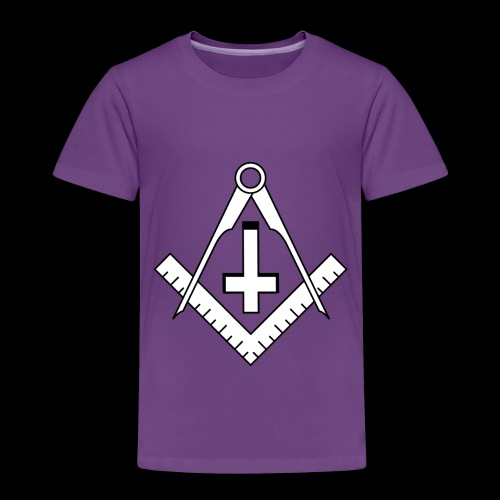 FreemasonCrossBlack - Toddler Premium T-Shirt