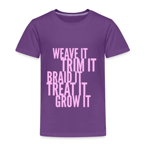 Healthy Hair - Toddler Premium T-Shirt