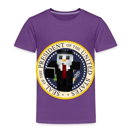 Snowy For Prez! - Toddler Premium T-Shirt
