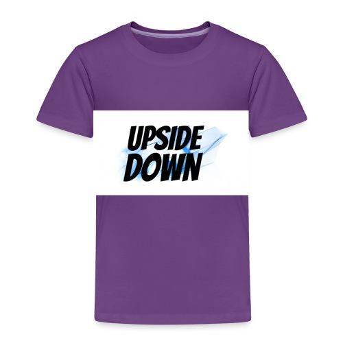 UPsideDOWN Iphone Cover - Toddler Premium T-Shirt