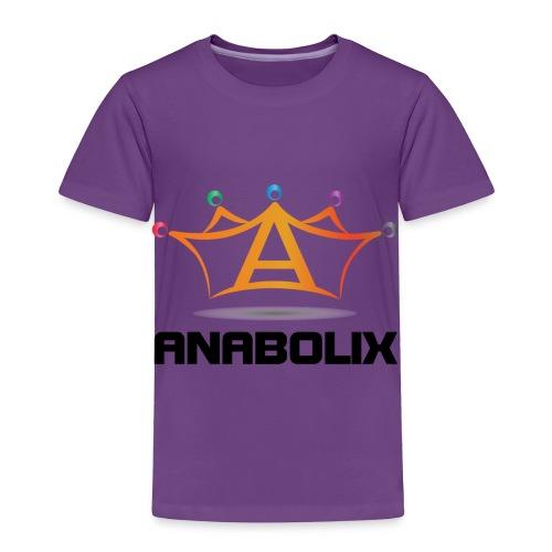 anabolix logo color - Toddler Premium T-Shirt