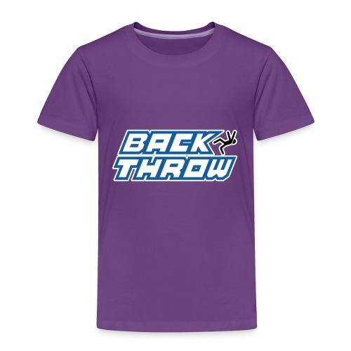 Back Throw Logo - Toddler Premium T-Shirt