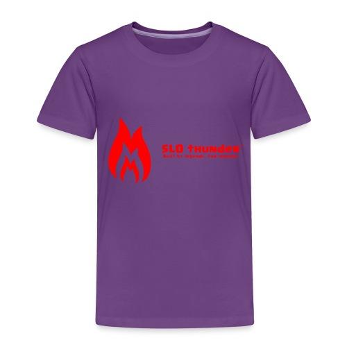 SLO thunder official logo - Toddler Premium T-Shirt