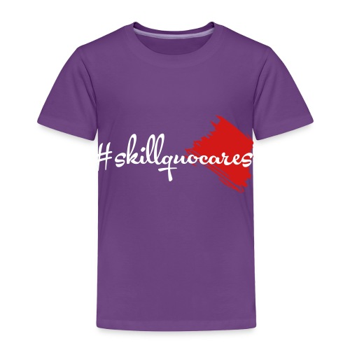 SkillQuo Cares - Toddler Premium T-Shirt