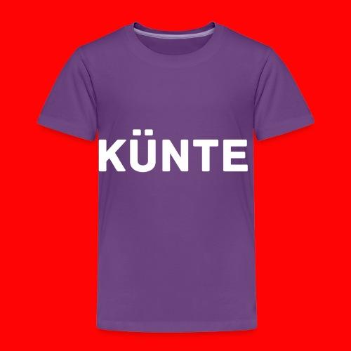 künte side - Toddler Premium T-Shirt