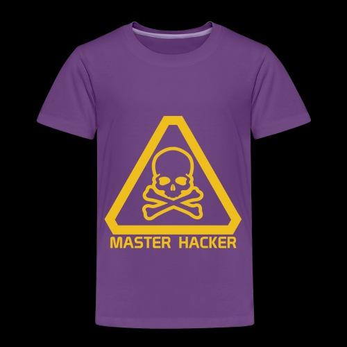 Master Hacker - Toddler Premium T-Shirt