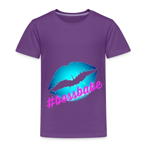 BossBabeKiss - Toddler Premium T-Shirt