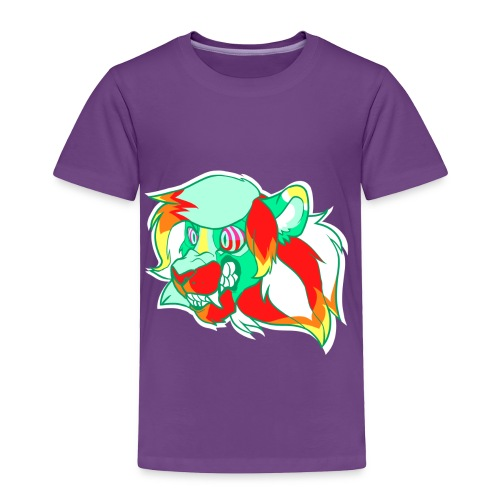 Psychedelic Lion - Toddler Premium T-Shirt