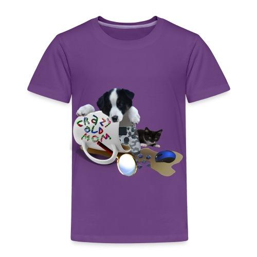 CrazyOldMom Twitch Logo - Toddler Premium T-Shirt