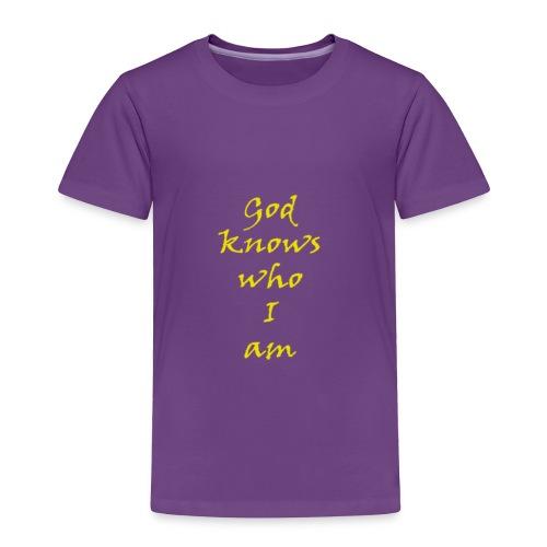god - Toddler Premium T-Shirt