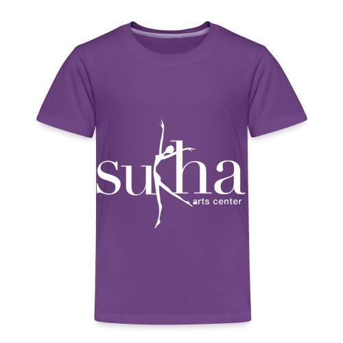sukha white logo - Toddler Premium T-Shirt