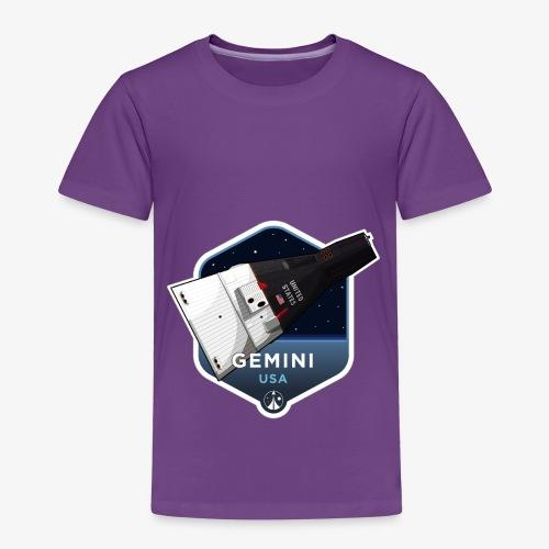 Space Race Series: GEMINI (Large print) - Toddler Premium T-Shirt