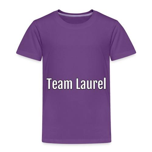 team laurel - Toddler Premium T-Shirt