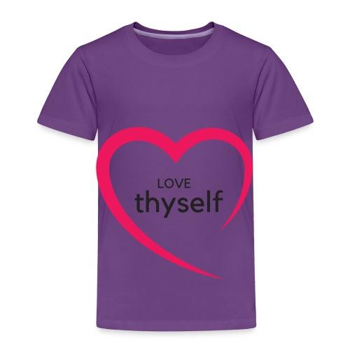 Love Thyself - Toddler Premium T-Shirt