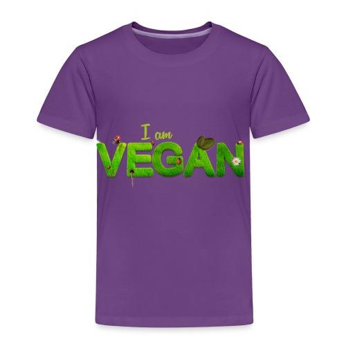 I am Vegan - Toddler Premium T-Shirt