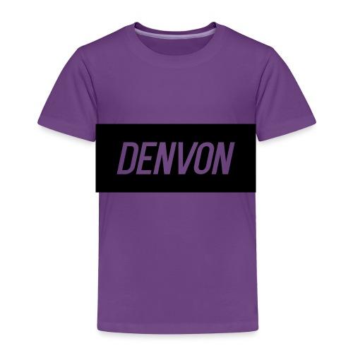 Denvonshirtlogo - Toddler Premium T-Shirt