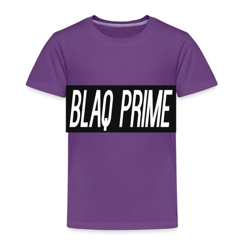 Blaq Prime Box Logo - Toddler Premium T-Shirt