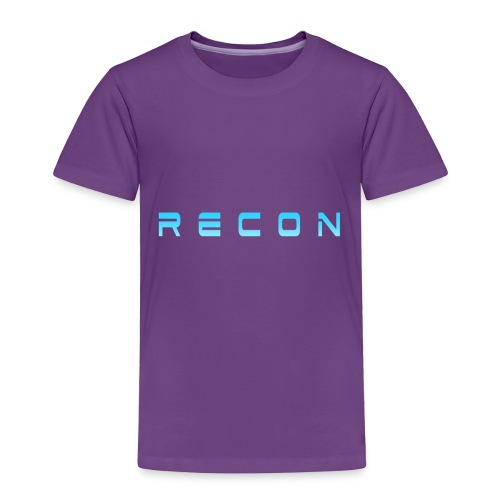 Rec0n Text - Toddler Premium T-Shirt