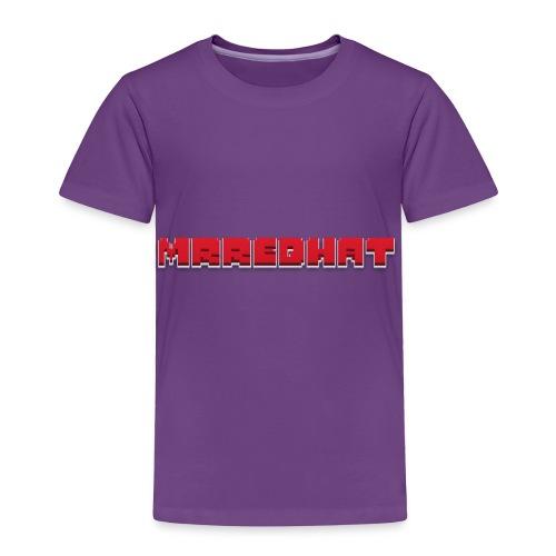 MrRedHat Plain Logo - Toddler Premium T-Shirt
