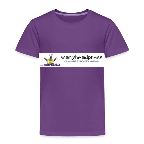 Wanyheadpress Logo - Toddler Premium T-Shirt
