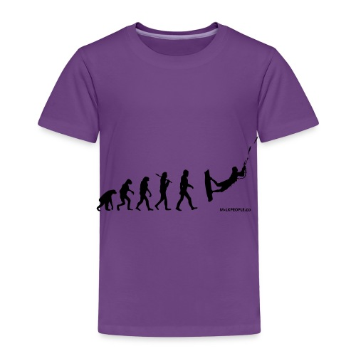 Kite surfing Evolution - Toddler Premium T-Shirt