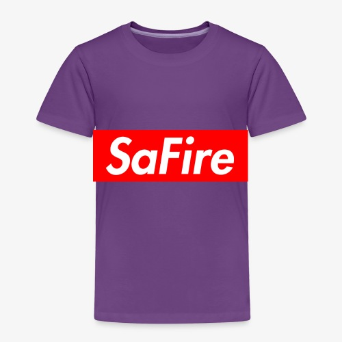 SaFire box logo tee - Toddler Premium T-Shirt