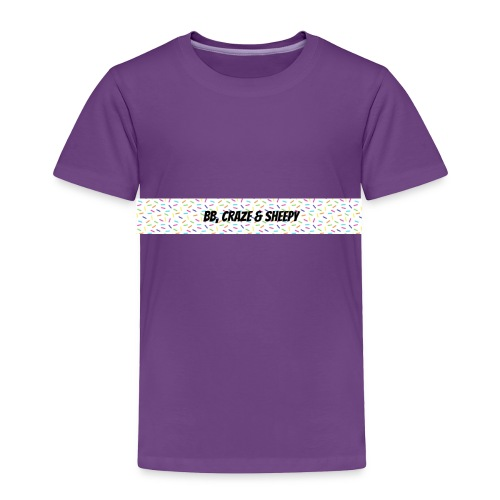 BB, Craze & Sheepy - Toddler Premium T-Shirt