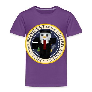 Snowy For Prez! - Toddler Premium T-Shirt