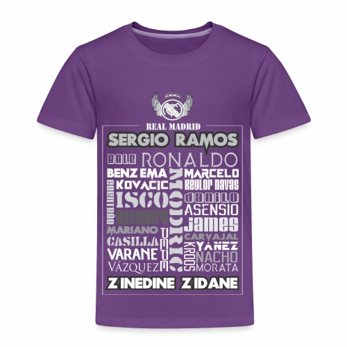 Real Madrid Design - Toddler Premium T-Shirt