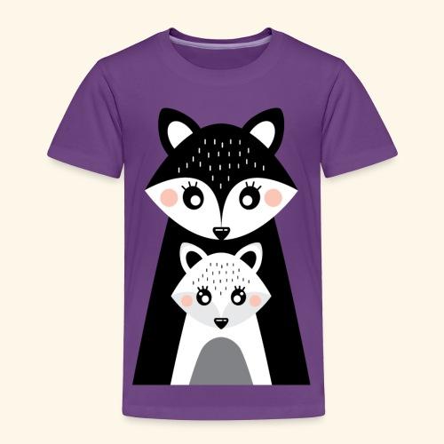 Mama and little fox - Toddler Premium T-Shirt