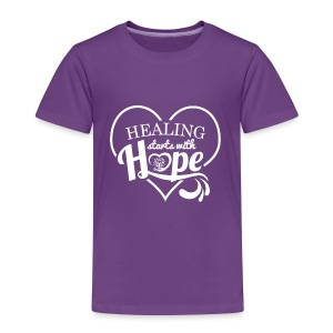 Healing with Hope - Toddler Premium T-Shirt