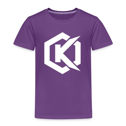 Logo de Kunsel sur Twitch et Ylutube - Toddler Premium T-Shirt