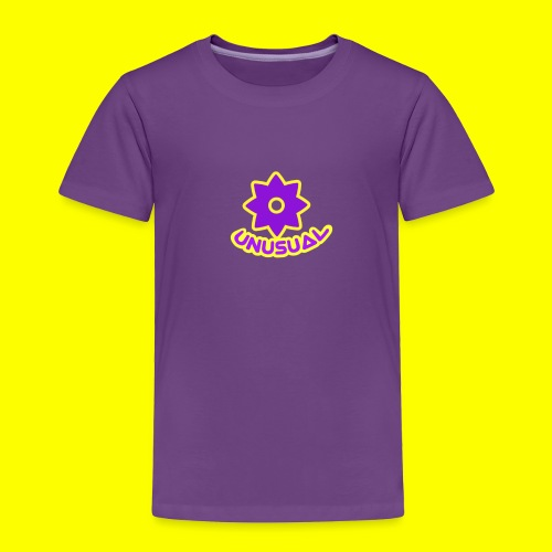 Ususual flower logo - Toddler Premium T-Shirt