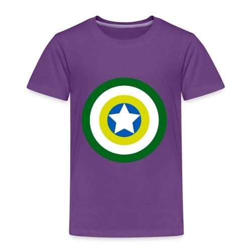 Capitão America Brasil - Toddler Premium T-Shirt